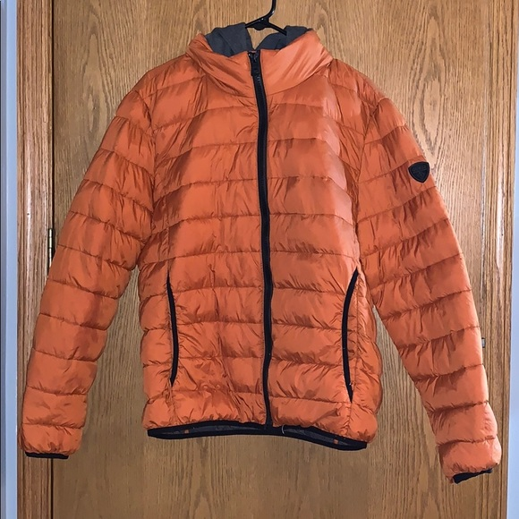 Guess Other - Orange Guess Winter Jacket